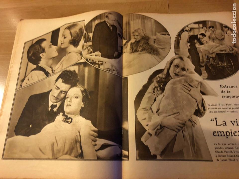 Cine: Revista popular film marzo 1934 irene bentley ricardo cortez dolores Del Río Raquel Torres - Foto 3 - 184767283
