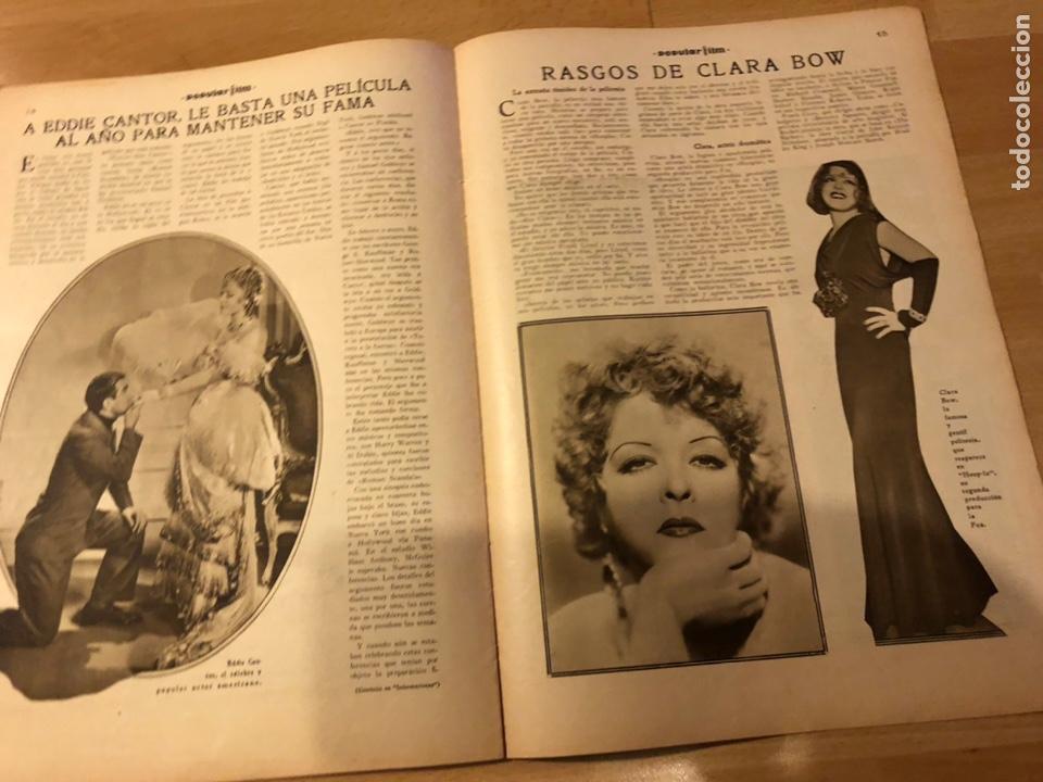 Cine: Revista popular film marzo 1934 irene bentley ricardo cortez dolores Del Río Raquel Torres - Foto 4 - 184767283