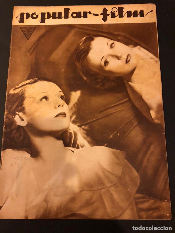 REVISTA POPULAR FILM MARZO 1934 IRENE BENTLEY RICARDO CORTEZ DOLORES DEL RÍO RAQUEL TORRES (Cine - Revistas - Popular film)