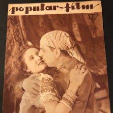 Cine: REVISTA POPULAR FILM MAYO 1934 ANITA CAMPILLO ENRICO CARUSO RANDOLPH SCOTT JOAN CRAWFORD. Lote 184767551