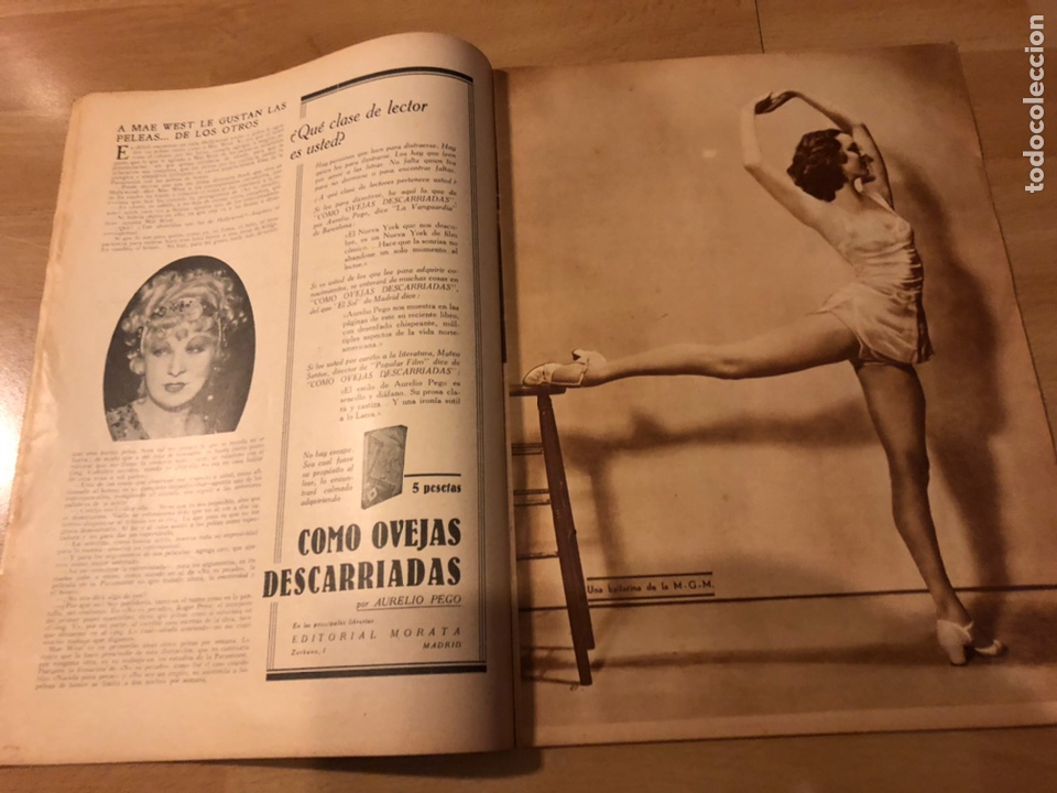 Cine: Revista popular film julio 1934 chevalier.gary cooper norma shearer charles boyer - Foto 2 - 184767837