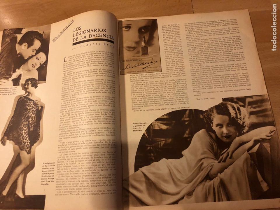 Cine: Revista popular film julio 1934 chevalier.gary cooper norma shearer charles boyer - Foto 3 - 184767837