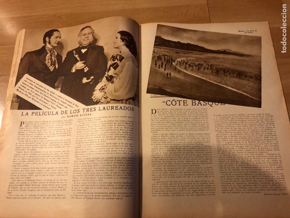 Cine: Revista popular film julio 1934 chevalier.gary cooper norma shearer charles boyer - Foto 5 - 184767837