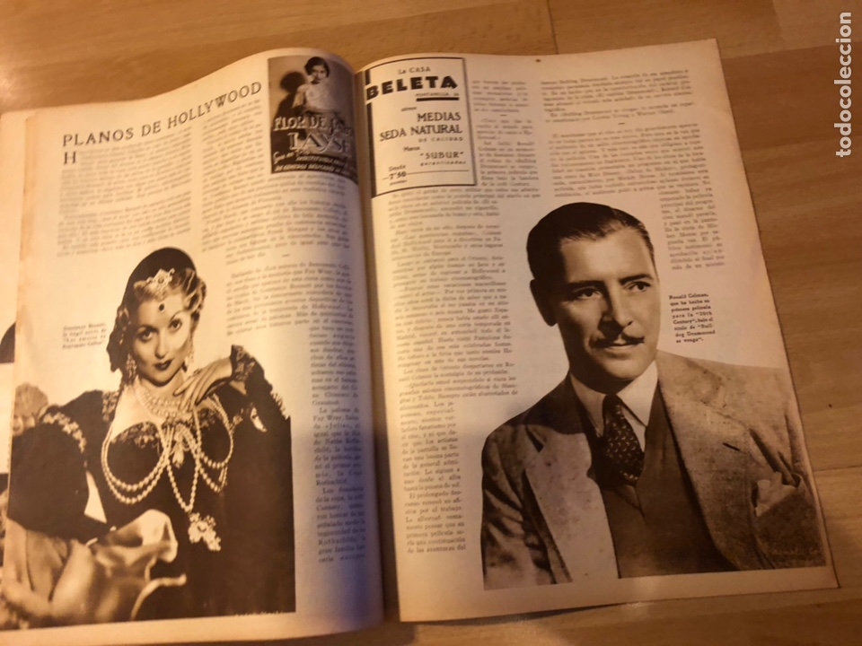 Cine: Revista popular film julio 1934 chevalier.gary cooper norma shearer charles boyer - Foto 7 - 184767837