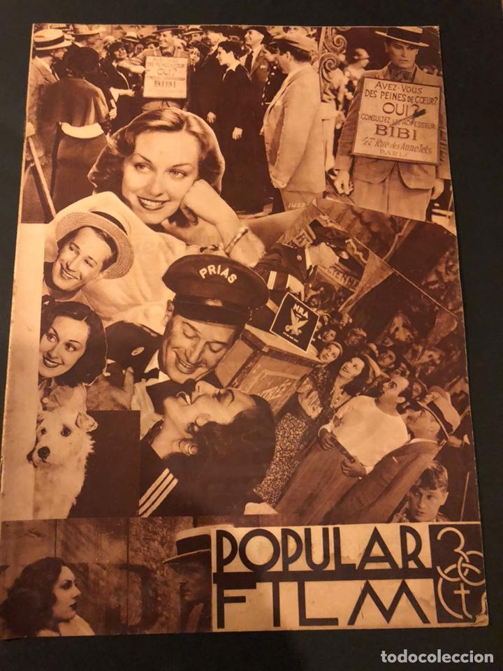REVISTA POPULAR FILM JULIO 1934 CHEVALIER.GARY COOPER NORMA SHEARER CHARLES BOYER (Cine - Revistas - Popular film)