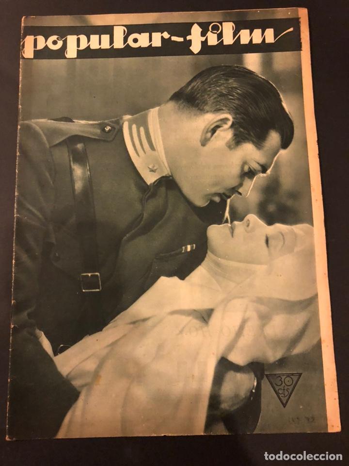 REVISTA POPULAR FILM DICIEMBRE 1933.CLARK GABLE HELEN HEYES JOAN CRAWFORD LENI RIEFENSTAHL (Cine - Revistas - Popular film)