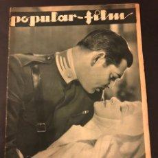 Cine: REVISTA POPULAR FILM DICIEMBRE 1933.CLARK GABLE HELEN HEYES JOAN CRAWFORD LENI RIEFENSTAHL. Lote 184768121