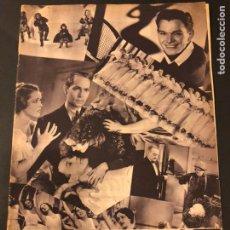 Cine: REVISTA POPULAR FILM JULIO 1934.CHARLIE CHAPLIN RAMON NOVARRO DOLORES DEL RÍO ANGELILLO. Lote 184768587