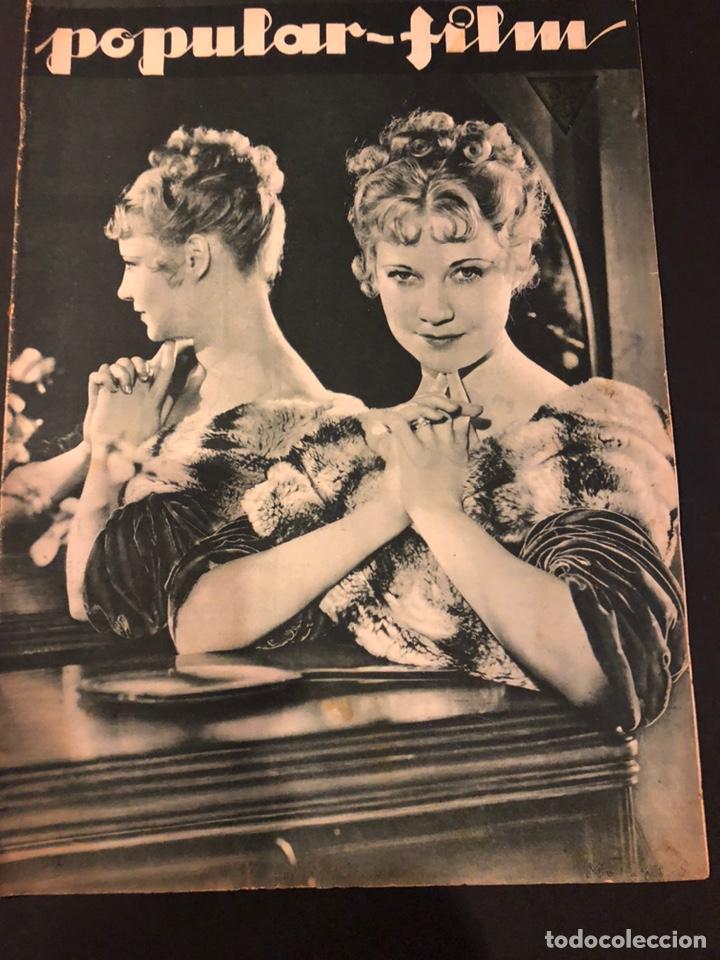 REVISTA POPULAR FILM DICIEMBRE 1933 UNA MERKEL.JOAN CRAWFORD LESLIE HOWARD MARY PICKFORD (Cine - Revistas - Popular film)