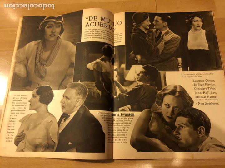 Cine: Revista popular film junio 1934.marlene Dietrich gloria swanson alice faye - Foto 3 - 184769432