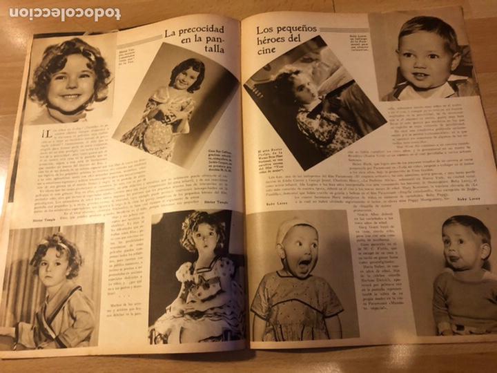 Cine: Revista popular film junio 1934.marlene Dietrich gloria swanson alice faye - Foto 4 - 184769432