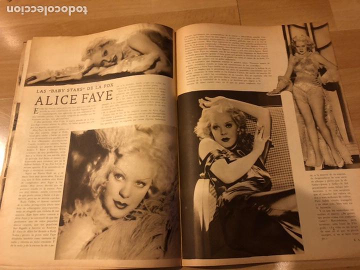 Cine: Revista popular film junio 1934.marlene Dietrich gloria swanson alice faye - Foto 5 - 184769432