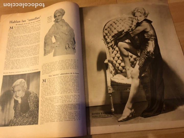 Cine: Revista popular film junio 1934.marlene Dietrich gloria swanson alice faye - Foto 6 - 184769432