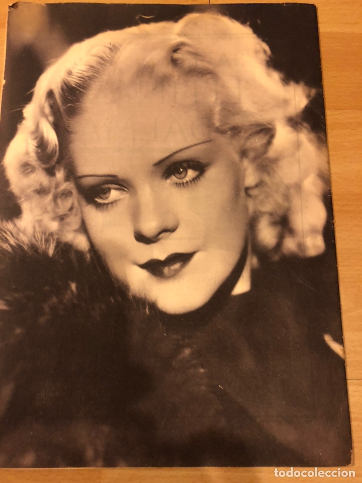 Cine: Revista popular film junio 1934.marlene Dietrich gloria swanson alice faye - Foto 7 - 184769432