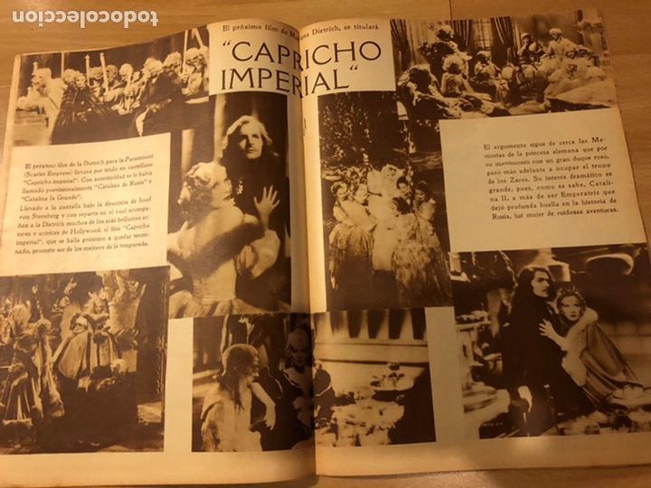 Cine: Revista popular film agosto 1934 Marlene Dietrich loretta young Douglas fairbanks - Foto 2 - 184770815