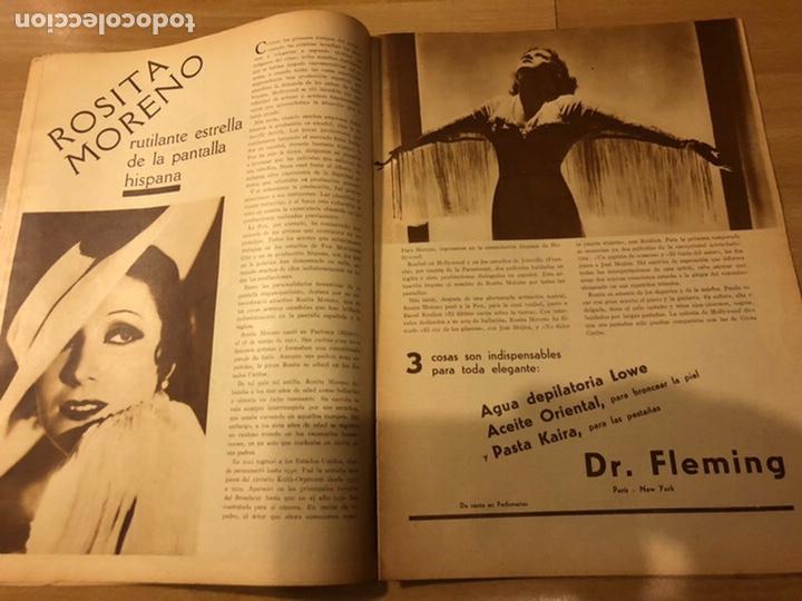 Cine: Revista popular film agosto 1934 Marlene Dietrich loretta young Douglas fairbanks - Foto 4 - 184770815