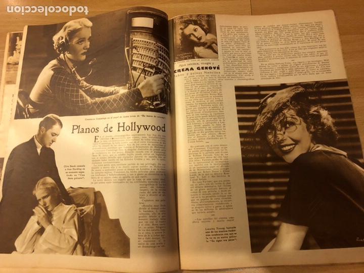 Cine: Revista popular film agosto 1934 Marlene Dietrich loretta young Douglas fairbanks - Foto 5 - 184770815