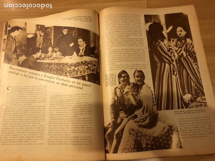 Cine: Revista popular film agosto 1934 Marlene Dietrich loretta young Douglas fairbanks - Foto 6 - 184770815