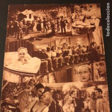 Cine: REVISTA POPULAR FILM AGOSTO 1934 MARLENE DIETRICH LORETTA YOUNG DOUGLAS FAIRBANKS. Lote 184770815