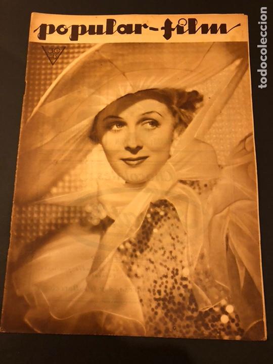 REVISTA POPULAR FILM MARZO 1934 GLORIA STUART.MAE WEST EL TESTAMENTO DEL DR MABUSE FRITZ LANG SKIMO (Cine - Revistas - Popular film)