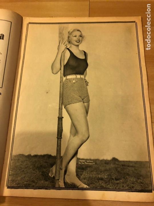 Cine: Revista popular film abril 1934 Toby wing Kay Francis John barrymore - Foto 3 - 184771267