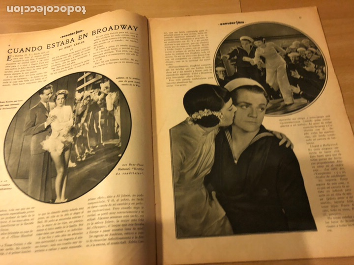 Cine: Revista popular film abril 1934 Toby wing Kay Francis John barrymore - Foto 5 - 184771267