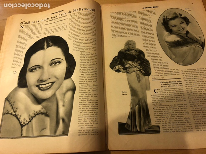 Cine: Revista popular film abril 1934 Toby wing Kay Francis John barrymore - Foto 6 - 184771267