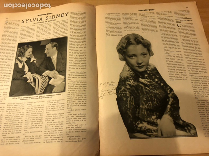 Cine: Revista popular film abril 1934 Toby wing Kay Francis John barrymore - Foto 7 - 184771267