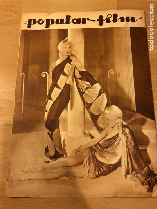 Cine: Revista popular film abril 1934 Toby wing Kay Francis John barrymore - Foto 8 - 184771267