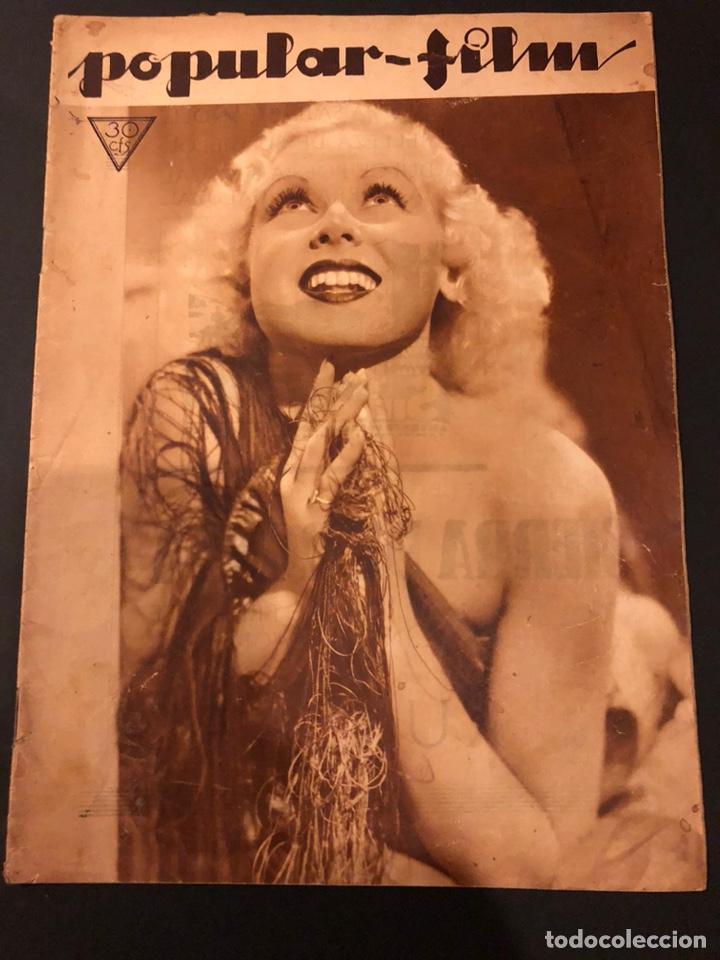 REVISTA POPULAR FILM ABRIL 1934 TOBY WING KAY FRANCIS JOHN BARRYMORE (Cine - Revistas - Popular film)