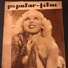 Cine: REVISTA POPULAR FILM ABRIL 1934 TOBY WING KAY FRANCIS JOHN BARRYMORE. Lote 184771267