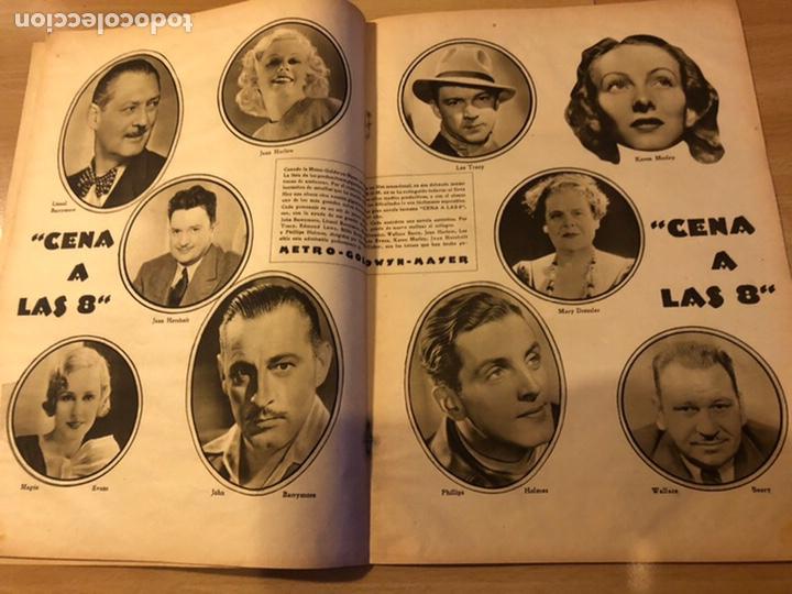 Cine: Revista popular film enero 1934 cena a las 8 Jean harlow.john barrymore walt disney - Foto 2 - 184771611