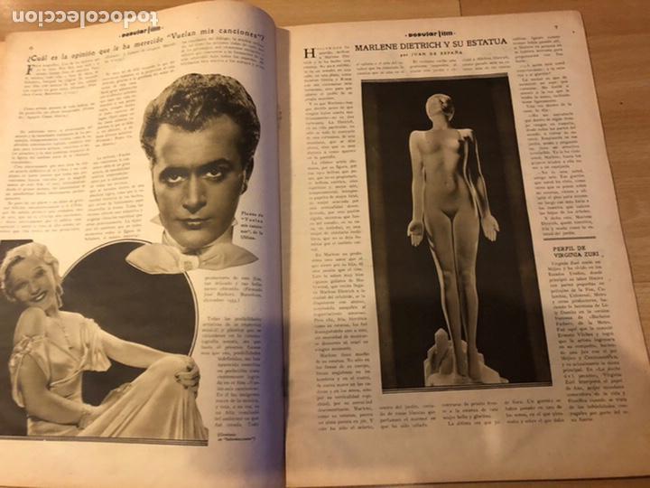 Cine: Revista popular film enero 1934 cena a las 8 Jean harlow.john barrymore walt disney - Foto 4 - 184771611