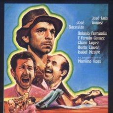 Cine: P-8490- PARRANDA (RECORTE DE PRENSA 9 X 12) JOSÉ LUIS GÓMEZ - JOSÉ SACRISTÁN - ANTONIO FERRANDIS. Lote 184823511