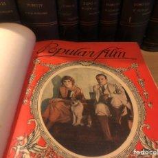 Cine: 9 TOMOS REVISTA DE CINE POPULAR FILM.MARLENE DIETRICH JOAN CRAWFORD SWANSON GISH FAIRBANKS GILBERT. Lote 184863582