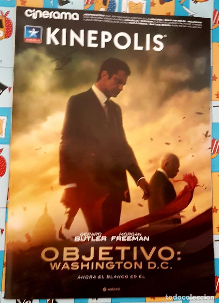 CINERAMA KINEPOLIS . OBJETIVO WASHINGTON DC (Cine - Revistas - Cinerama)