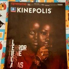 Cine: CINERAMA KINEPOLIS. EL TERROR TIENE DOS CARAS.. Lote 184887791