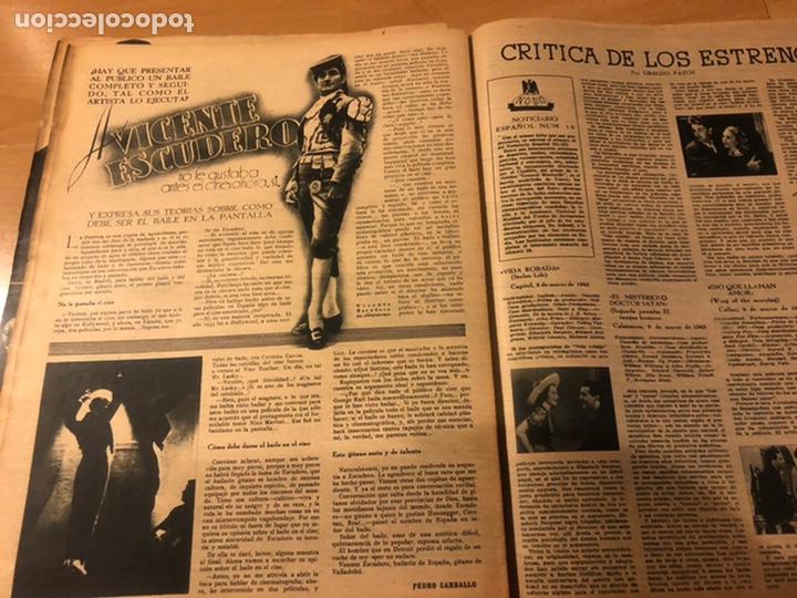 Cine: Revista primer plano marzo 1943 conchita Montenegro greer garson ana mariscal mercedes vecino - Foto 6 - 184891112