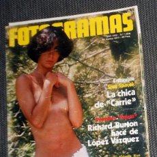 Cine: REVISTA FOTOGRAMAS Nº1506 AGOSTO 1977 ANTIGUA - MUERTE DE ELVIS PRESLEY - YOLANDA RIOS. Lote 184931657