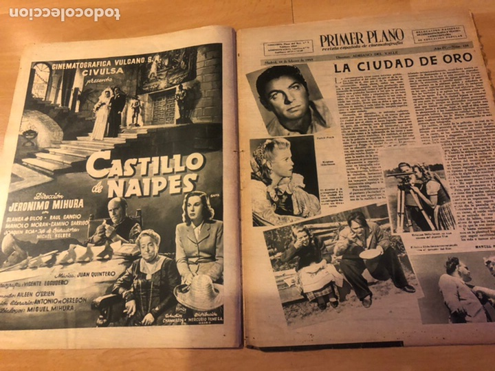 Cine: Revista primer plano febrero 1943 ana mariscal rafael gil hans sohnker - Foto 2 - 185336546