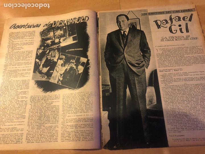 Cine: Revista primer plano febrero 1943 ana mariscal rafael gil hans sohnker - Foto 3 - 185336546