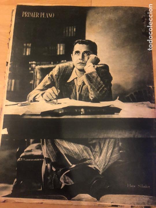 Cine: Revista primer plano febrero 1943 ana mariscal rafael gil hans sohnker - Foto 7 - 185336546