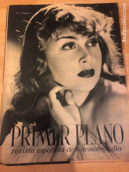 REVISTA PRIMER PLANO FEBRERO 1943 ANA MARISCAL RAFAEL GIL HANS SOHNKER (Cine - Revistas - Primer plano)