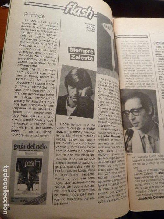 Cine: revista guia del ocio barcelona nº 312 1983 el retorno del jedi star wars guerra galaxias - Foto 3 - 185379207