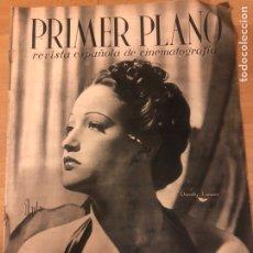 Cinéma: REVISTA PRIMER PLANO AGOSTO 1942 DOROTHY LAMOUR.ROBERTO FONT.ANTONIO ROMAN. Lote 185534700