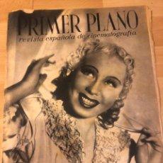 Cine: REVISTA PRIMER PLANO OCTUBRE 1942 CHARLOTT DAUDERT.LA CORINA DE HIERRO.GRETA GARBO.ARMANDO CALVO. Lote 185555872