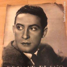 Cine: REVISTA PRIMER PLANO NOVIEMBRE 1942 LUIS PRENDES.BLANCA DE SILOS MANOLO MORAN.LA ALDEA MALDITA.. Lote 185577580