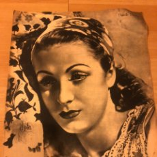 Cine: REVISTA PRIMER PLANO OCTUBRE 1942 DANIELLE DARRIEUX.JUANITA REINA LA BLANCA PALOMA.ANTONIO CASAL. Lote 185581268