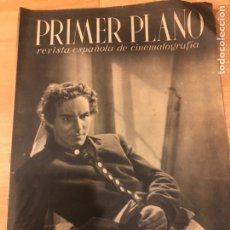 Cine: REVISTA PRIMER PLANO NOVIEMBRE 1940 HORST CASPAR.CONCHITA MONTES LUIS MARQUINA. Lote 185585861
