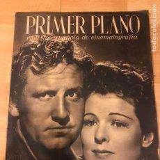 Cine: REVISTA PRIMER PLANO JUNIO 1941 SPENCER TRACY.MICHELE MORGAN.MARY CARRILLO JEANETTE MACDONALD. Lote 185590518